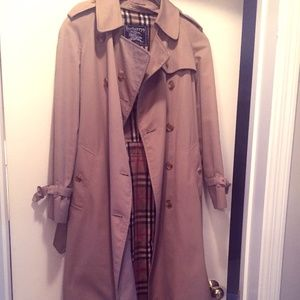 Women's Vintage Burberry Double Breast Trench Coat